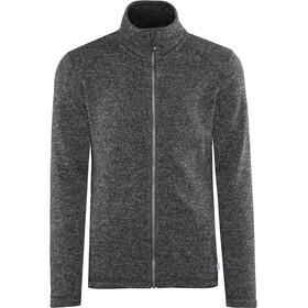 Meru Östersund Knitted Fleece Jacket Men Asphalt Melange